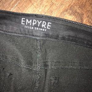 778dbaeb7a0 Empyre Jeans - Zumiez Ripped black skinny jeans